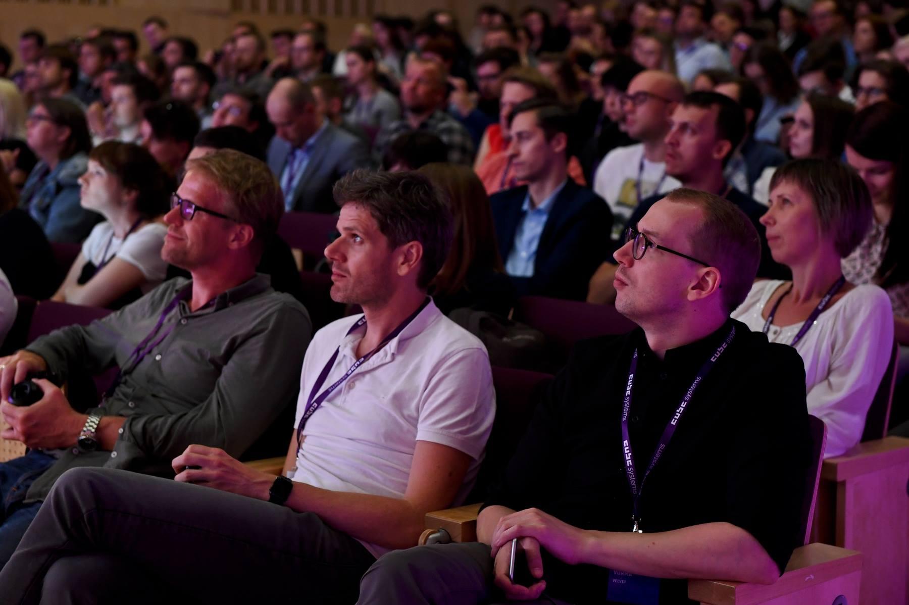 UX Riga 2018 attendees